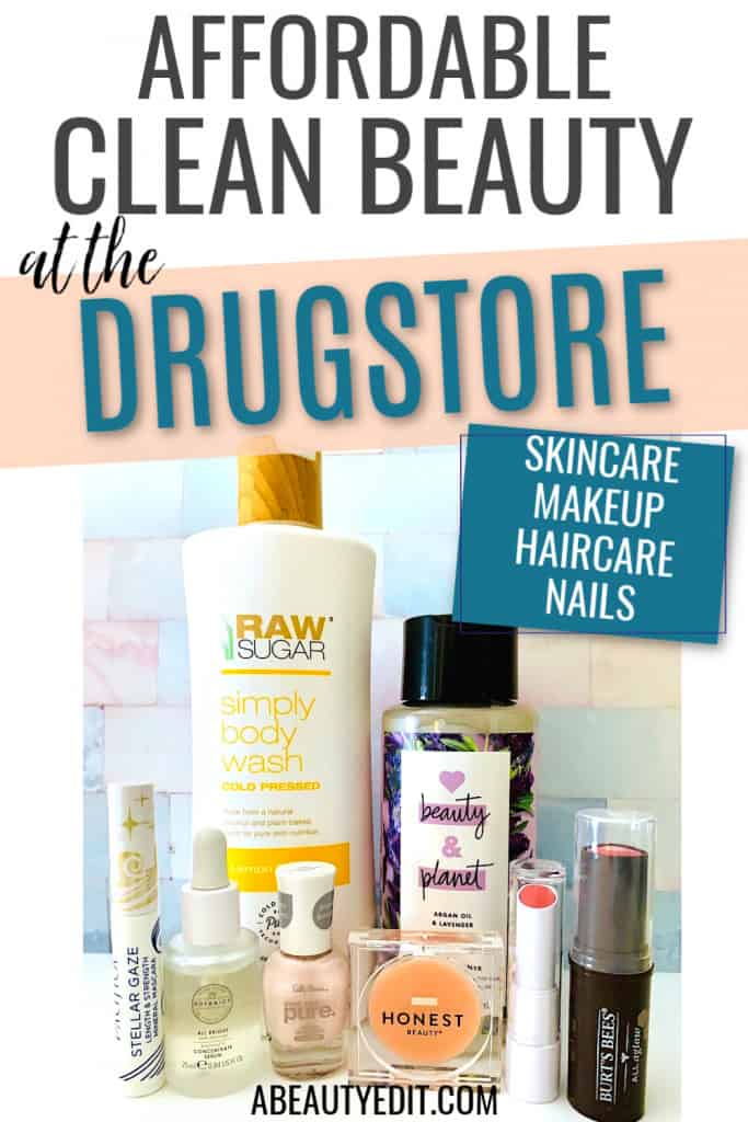 Affordable Clean Beauty at the Drugstore