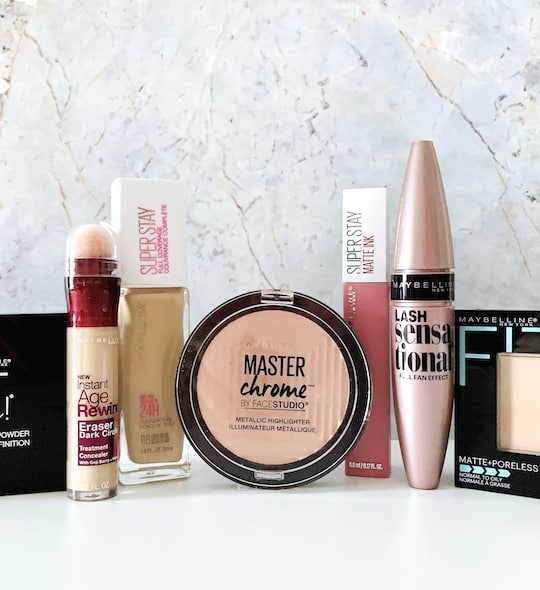 Maybelline Drugstore Makeup Products