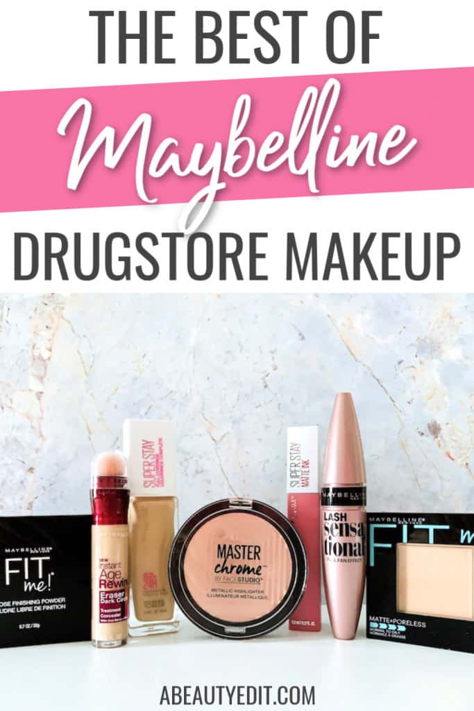 The Best of Maybelline Drugstore Makeup Products