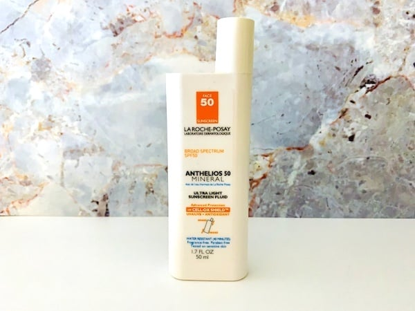 La Roche-Posay Anthelios Spf 50 Mineral Ultra Light Sunscreen Fluid