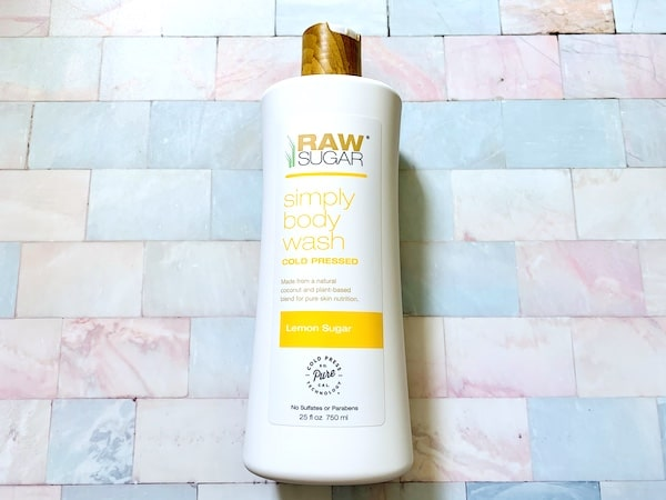 Raw Sugar Simply Body Wash in Lemon Sugar