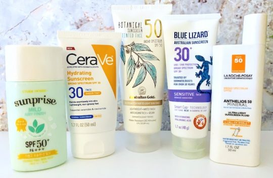 The Best Drugstore Mineral Sunscreens