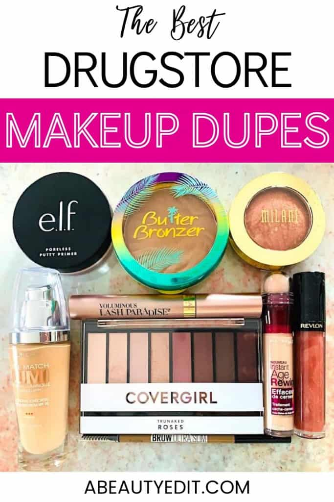 Drugstore Makeup Products That Are Dupes for High End/Luxury Makeup