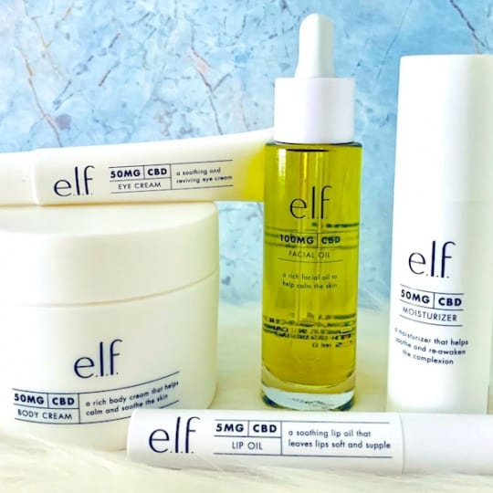 e.l.f. Full Spectrum CBD Skincare Collection