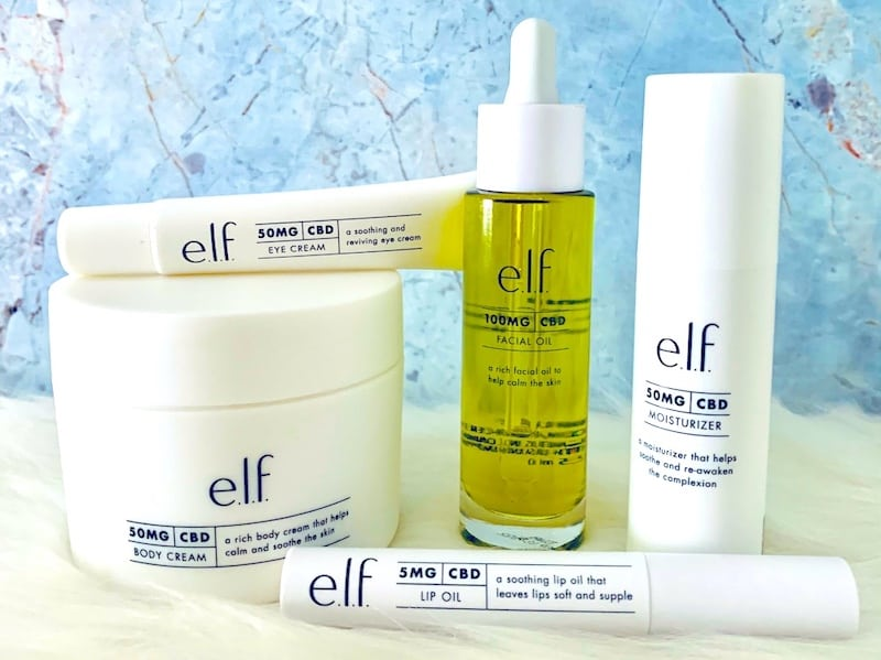 e.l.f. Full Spectrum CBD Skincare Collection