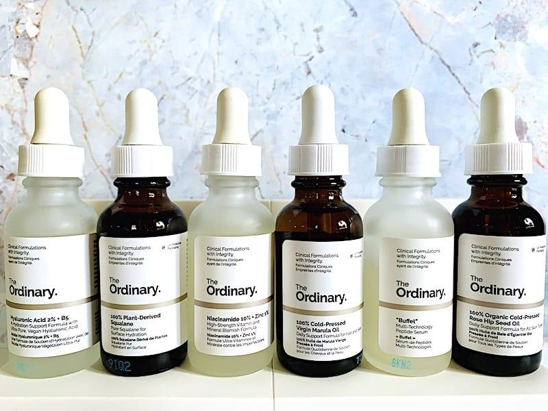 The Ordinary Skincare Serums and Facial Oils