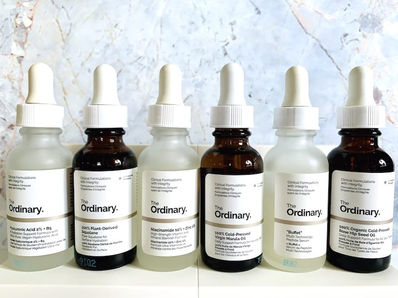 The Ordinary Skincare Serums and Facial Oils