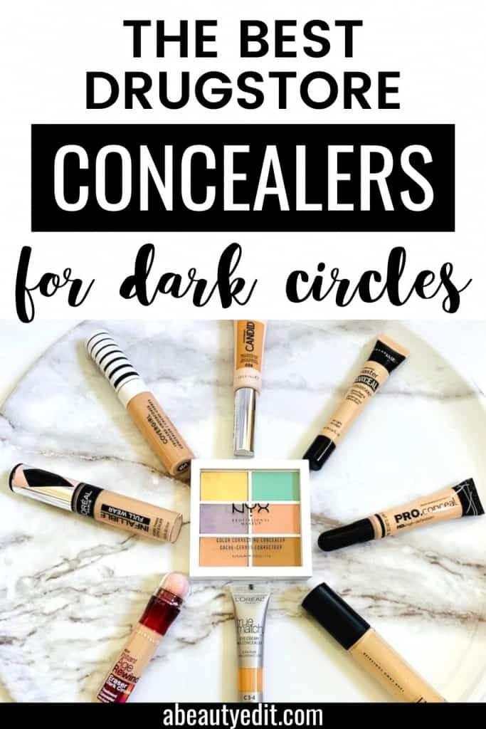 The Best Drugstore Concealers for Dark Circles Under the Eye