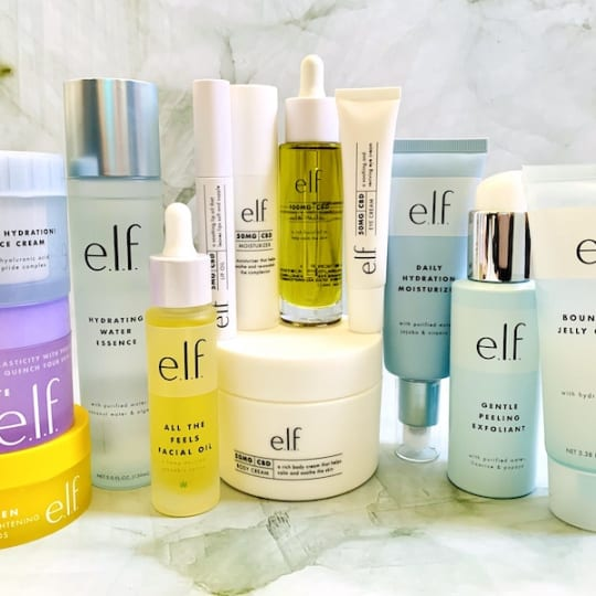 The Best e.l.f. Skincare Products - Cleanser, Serums, Treatments, Moisturizers and Oils