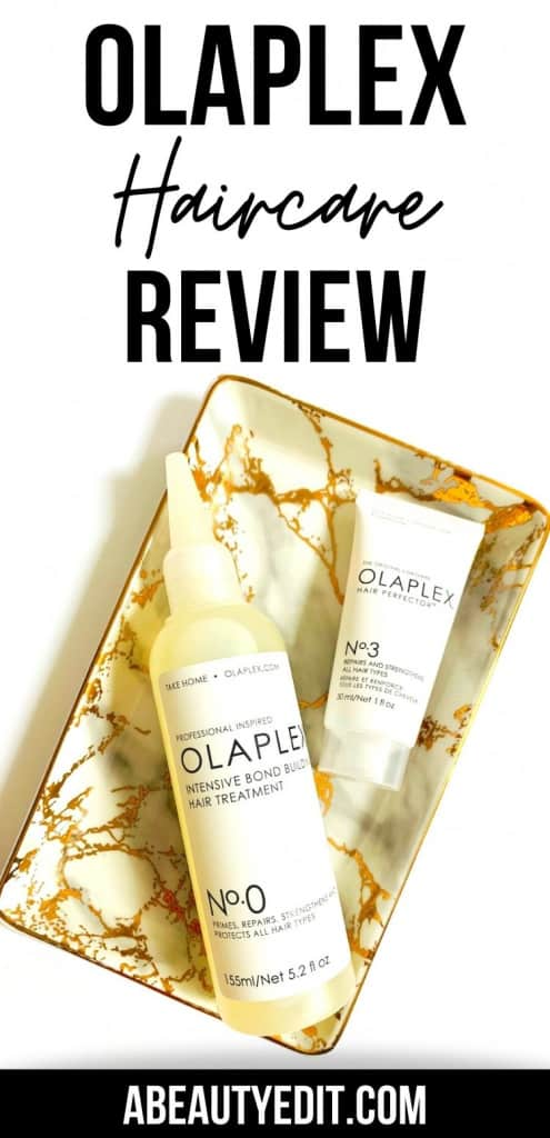 Olaplex Bond Building Haircare System Review