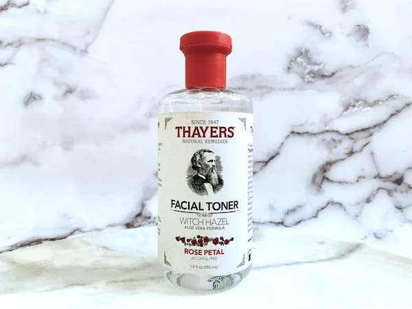 Thayers Alcohol-Free Rose Petal Witch Hazel Toner with Aloe Vera