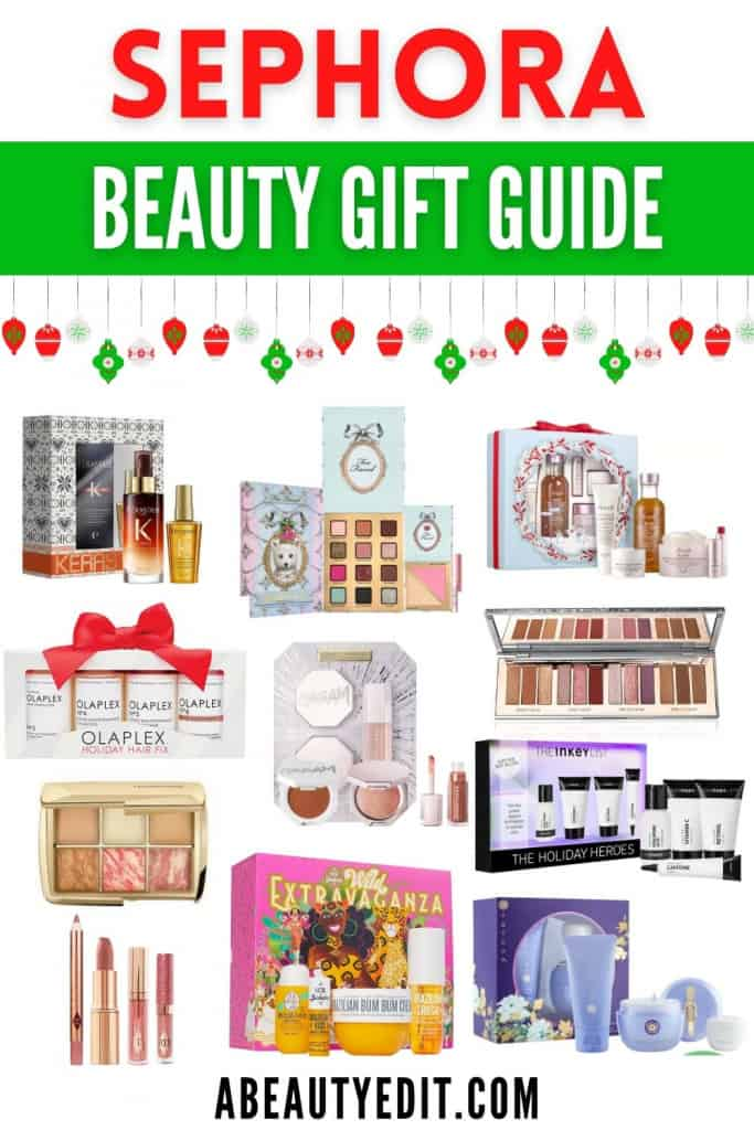Sephora Holiday Beauty Gift Guide: Makeup, Skincare & Haircare