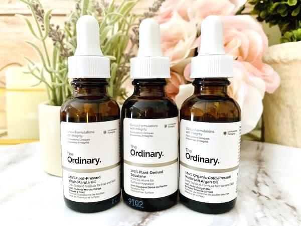 The Ordinary Marula, Squalane & Moroccan Argan Oils for Dry Skin
