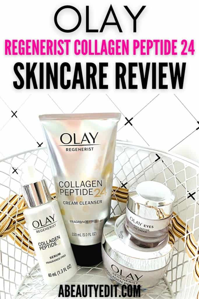 Olay Regenerist Collagen Peptide 24 Skincare Review