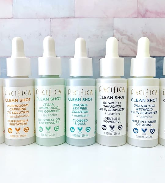 Pacifica Clean Shot Serums: Better Than The Ordinary?