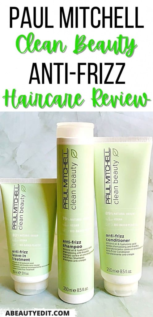 Paul Mitchell Clean Beauty Anti-Frizz Collection Review: Shampoo, Conditioner & Leave-In Treatment Haircare Review