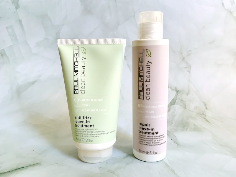 Paul Mitchell Clean Beauty Anti-Frizz and Repair Leave-In Treatments