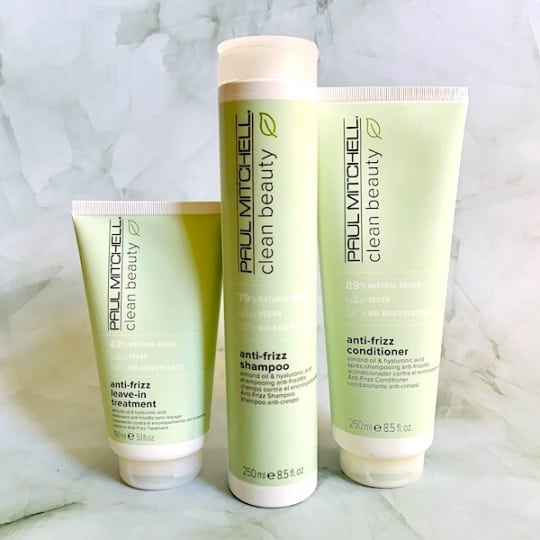 Paul Mitchell Clean Beauty Anti-Frizz Collection Review: Shampoo, Conditioner & Leave-In Treatment