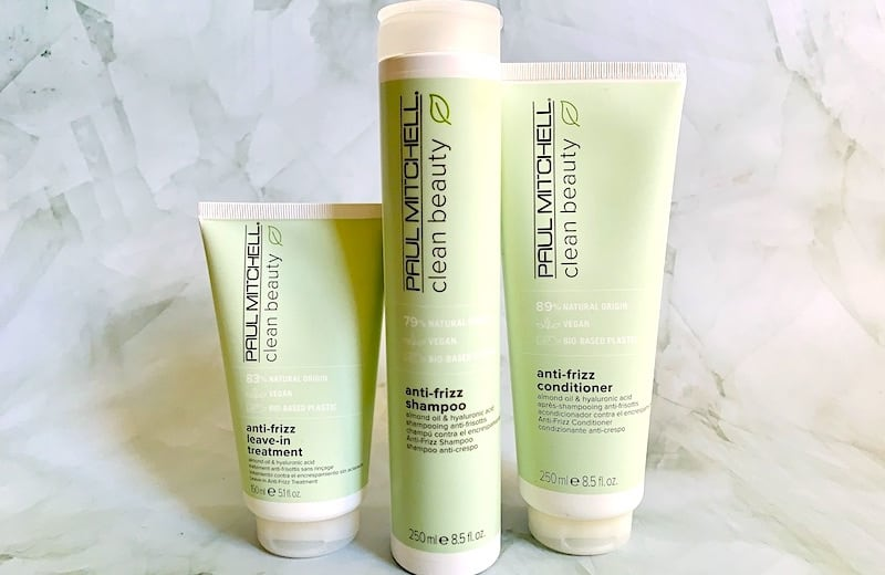 Paul Mitchell Clean Beauty Anti-Frizz Haircare Review: Shampoo, Conditioner & Leave-In Treatment