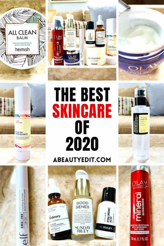 The Best Skincare Products of 2020
