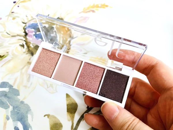 e.l.f. Cosmetics Bite Size Eyeshadow Palette in Rose Water