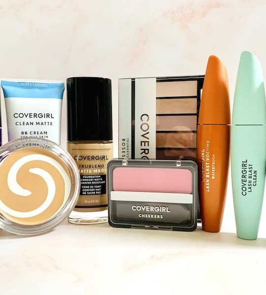 The Best CoverGirl Drugstore Makeup Products