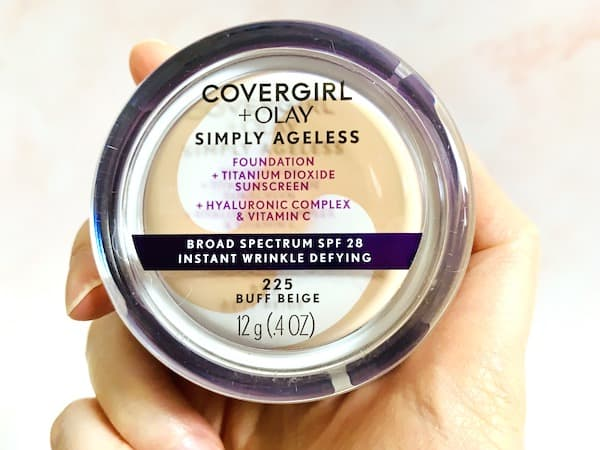 CoverGirl & Olay Simply Ageless Instant Wrinkle Defying Foundation with SPF 28