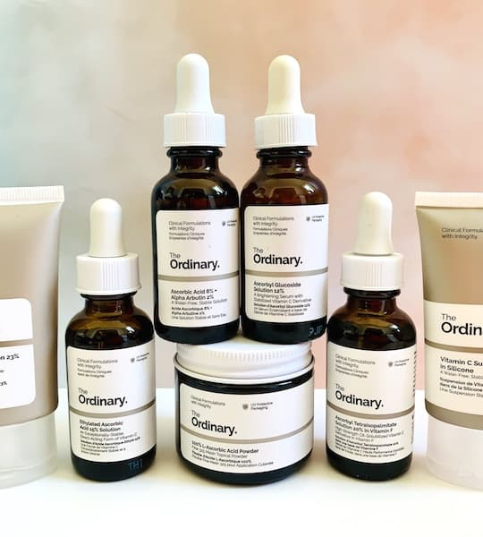 A Guide to The Ordinary Vitamin C Skincare Products