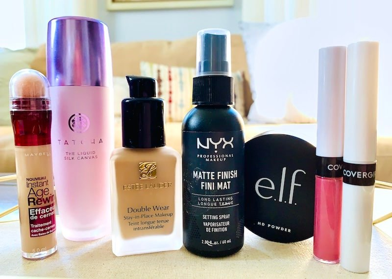 Makeup Products that do not transfer to your face mask