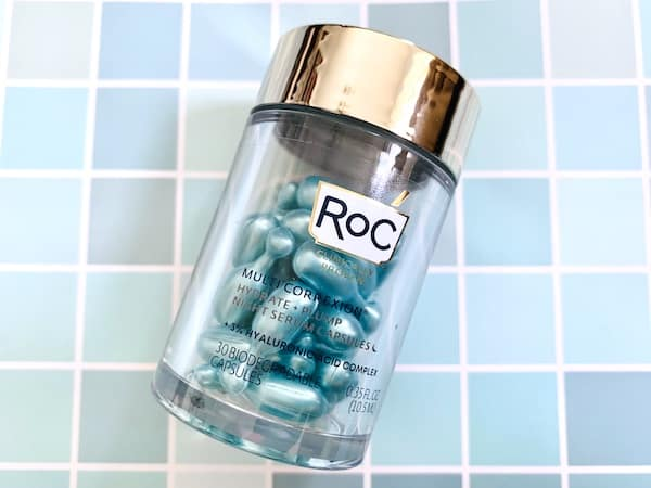 RoC Multi Correxion Hydrate & Plump Night Serum Capsules