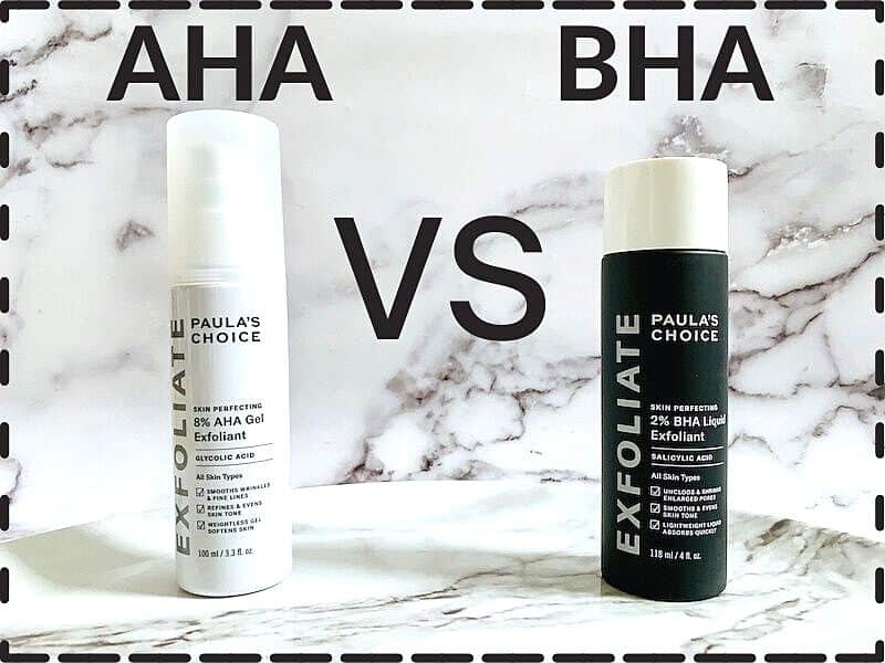AHA vs BHA Skincare Exfoliants: What is the Difference?