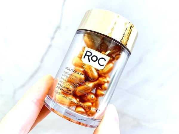 Roc Multi Correxion Revive + Glow Night Serum Capsules