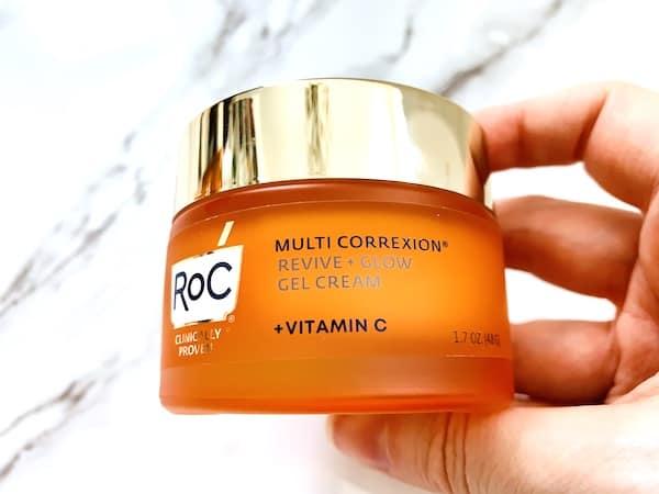 RoC Multi Correxion Revive + Glow Vitamin C Gel Cream