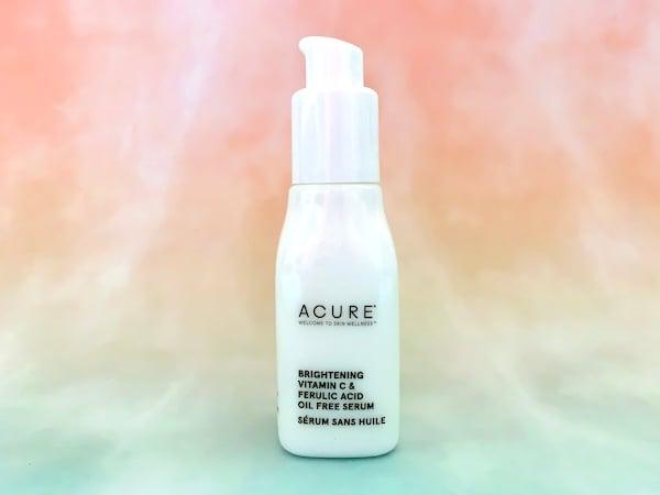 Acure Brightening Vitamin C & Ferulic Acid Oil Free Serum