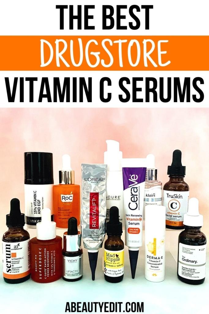 The Best Drugstore Vitamin C Serums