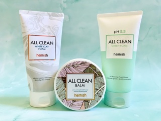 Heimish All Clean Balm, White Clay Foam & Green Foam Review