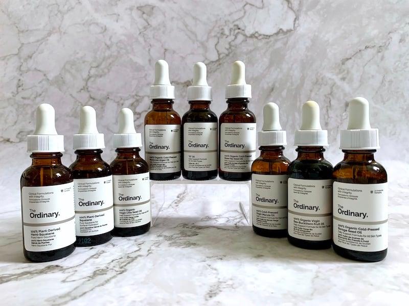 The Ordinary Face Oils