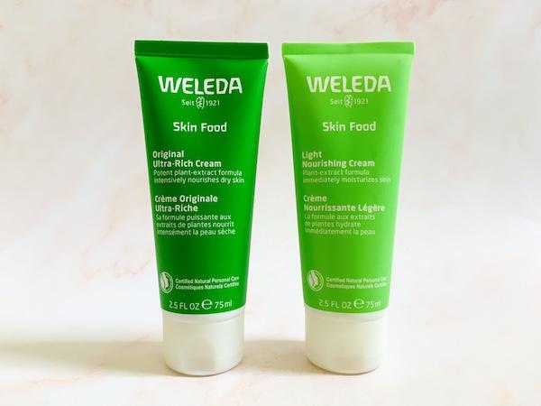 Weleda Skin Food Original Ultra-Rich Cream and Skin Food Light Nourishing Cream