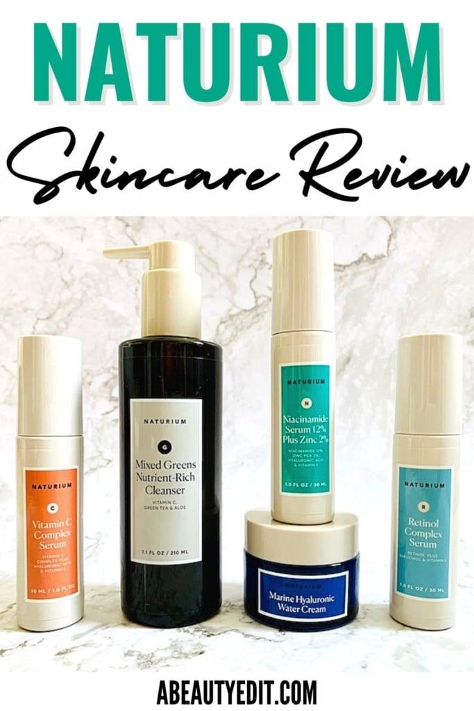 Naturium Skincare Review - Vitamin C Complex Serum, Mixed Greens Cleanser, Niacinamide Zinc 12% Zinc 2% Serum, Marine Hyaluronic Water Cream and Retinol Complex Serum
