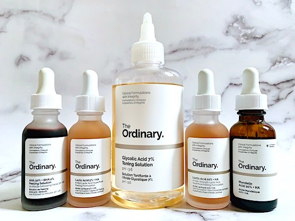 The Ordinary Exfoliating Acids for Wrinkles