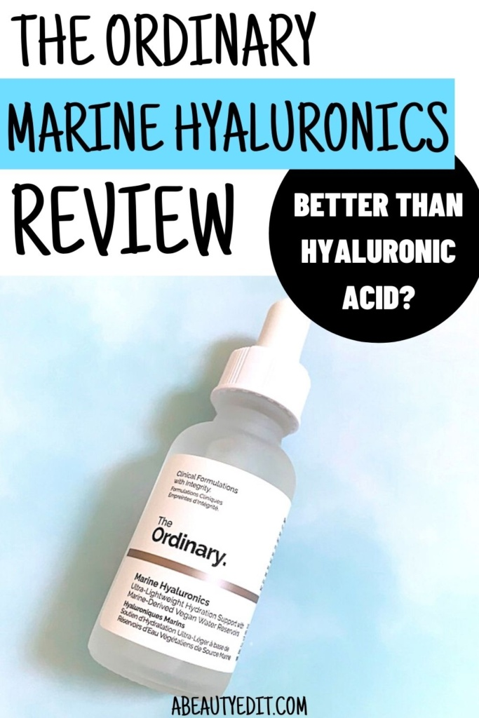 The Ordinary Marine Hyaluronics Review