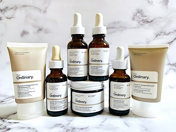 The Ordinary Vitamin C for Wrinkles