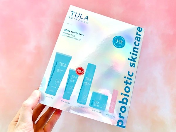 Tula Glow Starts Here Bestselling Skin Essentials Kit